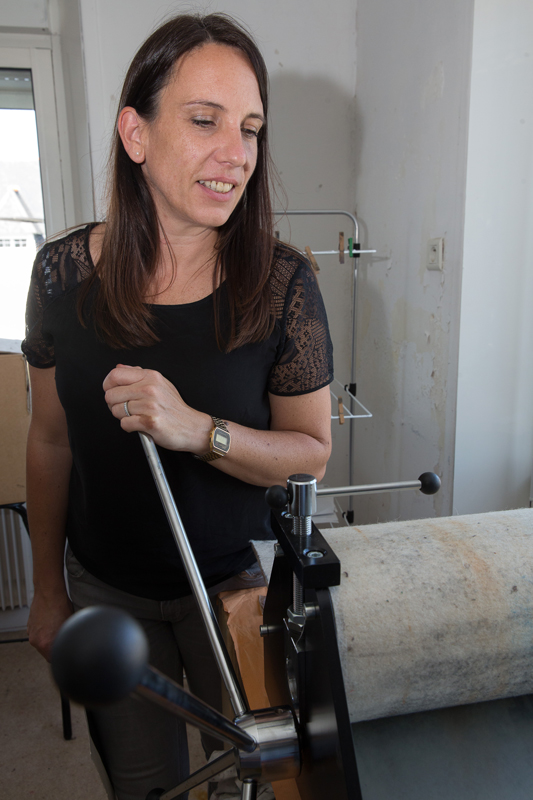 Elodie Cariou atelier gravure