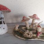 Atelier céramique enfants champignons