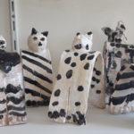 Atelier céramique enfants chats