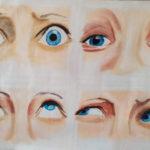 Les yeux en peintures