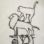 Dessin d'animaux enfant