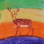 Peinture ado Cerf