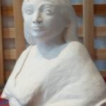 Sculpture buste de femme