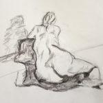 Atelier modèle vivant femme