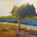 Stage-pastel sec paysage adulte