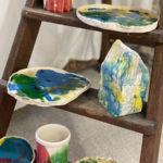 Expo Ateliers d'art 2021 ceramique enfants