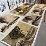 Expo Ateliers d'art 2021dessin peinture