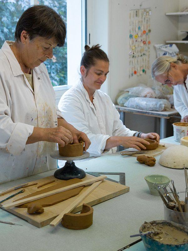 Cours poterie, céramique adultes