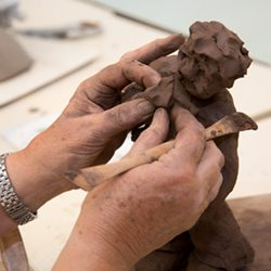 Cours de sculpture adultes